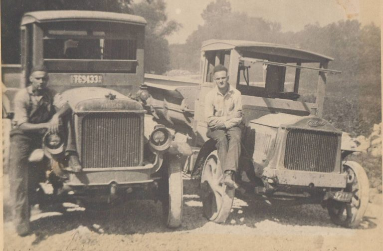 Frank Phillips first truck 1920